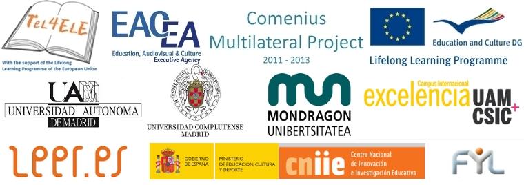 Logos TeL4ELE Comenius 2013